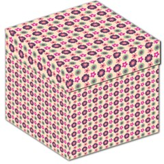 Cute Floral Pattern Storage Stool 12