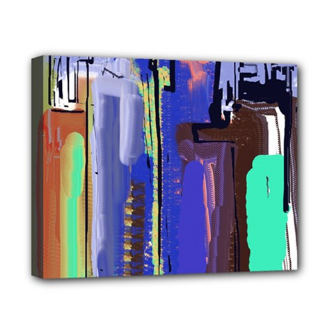 Abstract City Design Canvas 10  X 8  by digitaldivadesigns