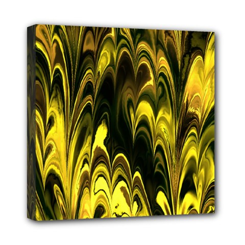 Fractal Marbled 15 Mini Canvas 8  X 8  by ImpressiveMoments