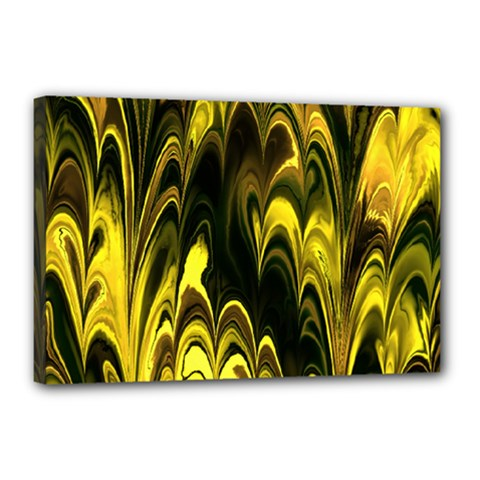 Fractal Marbled 15 Canvas 18  X 12  by ImpressiveMoments