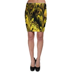 Fractal Marbled 15 Bodycon Skirts