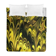 Fractal Marbled 15 Duvet Cover (twin Size)
