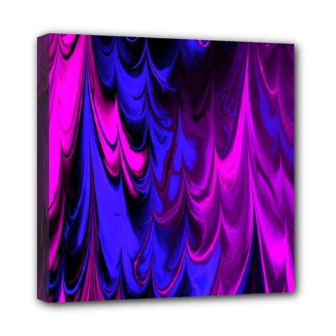 Fractal Marbled 13 Mini Canvas 8  X 8  by ImpressiveMoments