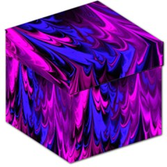 Fractal Marbled 13 Storage Stool 12