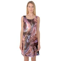 Wet Metal Structure Sleeveless Satin Nightdresses by ImpressiveMoments