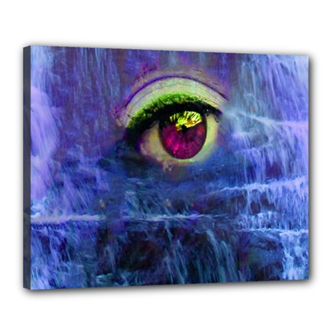 Waterfall Tears Canvas 20  X 16  by icarusismartdesigns