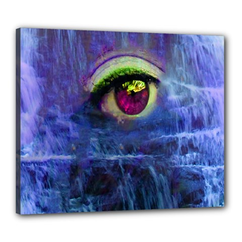 Waterfall Tears Canvas 24  X 20  by icarusismartdesigns