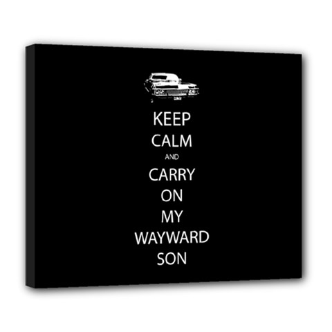 Carry On Centered Deluxe Canvas 24  X 20