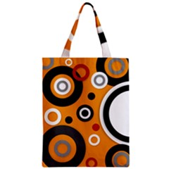 Florescent Orange Vector  Zipper Classic Tote Bags by OCDesignss