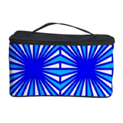 Retro Blue Pattern Cosmetic Storage Cases