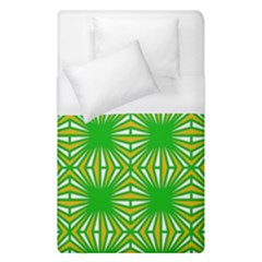 Retro Green Pattern Duvet Cover Single Side (single Size) by ImpressiveMoments