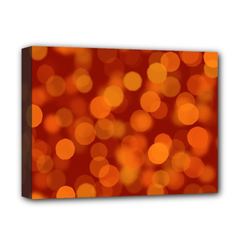 Modern Bokeh 12 Deluxe Canvas 16  X 12   by ImpressiveMoments