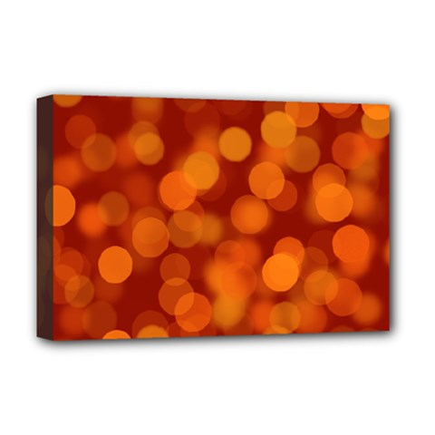 Modern Bokeh 12 Deluxe Canvas 18  X 12   by ImpressiveMoments