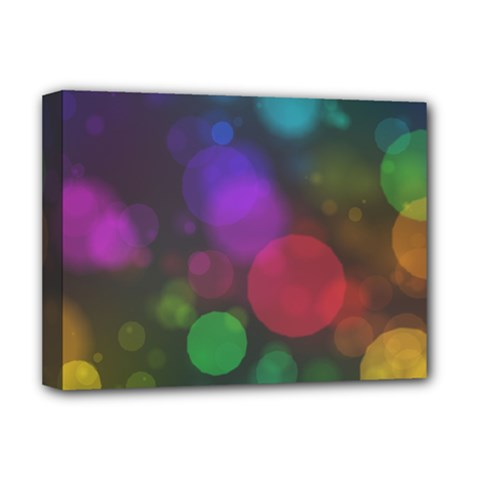 Modern Bokeh 15 Deluxe Canvas 16  X 12   by ImpressiveMoments