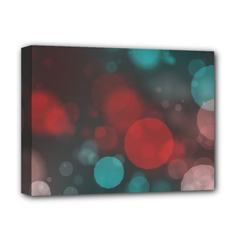 Modern Bokeh 15b Deluxe Canvas 16  X 12   by ImpressiveMoments