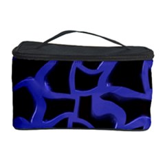 Purple Holes Cosmetic Storage Case by LalyLauraFLM
