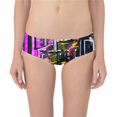 Abstract City View Classic Bikini Bottoms by digitaldivadesigns