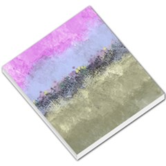 Abstract Garden In Pastel Colors Small Memo Pads