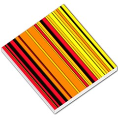 Hot Stripes Fire Small Memo Pads by ImpressiveMoments