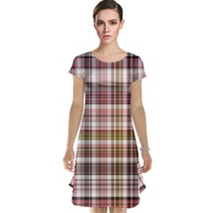 Plaid, Candy Cap Sleeve Nightdresses