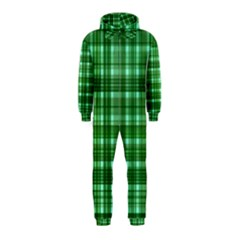Plaid Forest Hooded Jumpsuit (kids)