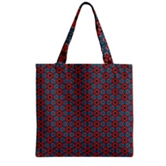 Cute Seamless Tile Pattern Gifts Grocery Tote Bags by creativemom