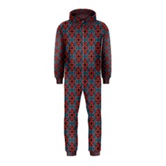 Cute Seamless Tile Pattern Gifts Hooded Jumpsuit (kids) by creativemom