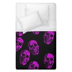 Purple Skulls  Duvet Cover Single Side (single Size) by ImpressiveMoments