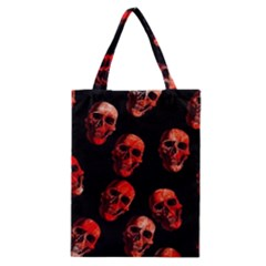 Skulls Red Classic Tote Bags