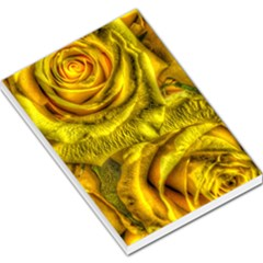 Gorgeous Roses, Yellow  Large Memo Pads