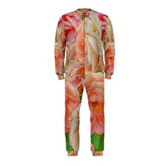 Great Garden Roses, Orange Onepiece Jumpsuit (kids)