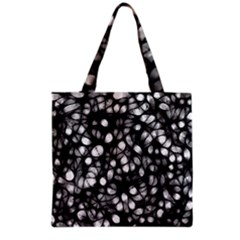 Chaos Decay Grocery Tote Bags by KirstenStar