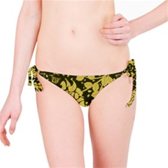 Floral Wallpaper Forest Bikini Bottoms