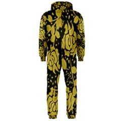 Floral Wallpaper Forest Hooded Jumpsuit (men)  by ImpressiveMoments