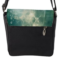 Funny Dswimming Dolphin Flap Messenger Bag (s)