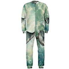 Funny Dswimming Dolphin Onepiece Jumpsuit (men)