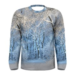 Another Winter Wonderland 1 Men s Long Sleeve T Shirts by MoreColorsinLife