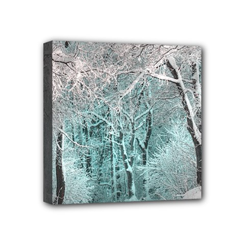 Another Winter Wonderland 2 Mini Canvas 4  X 4  by MoreColorsinLife
