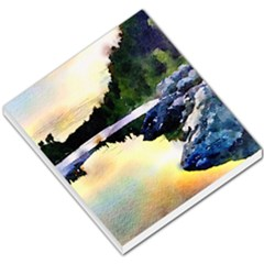 Stunning Nature Evening Small Memo Pads by MoreColorsinLife