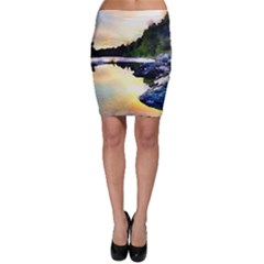 Stunning Nature Evening Bodycon Skirts by MoreColorsinLife