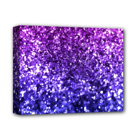 Midnight Glitter Deluxe Canvas 14  X 11  by KirstenStar