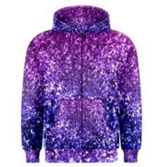 Midnight Glitter Men s Zipper Hoodies by KirstenStar
