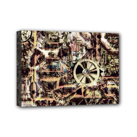 Steampunk 4 Soft Mini Canvas 7  X 5  by MoreColorsinLife
