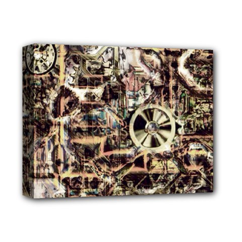 Steampunk 4 Soft Deluxe Canvas 14  X 11  by MoreColorsinLife