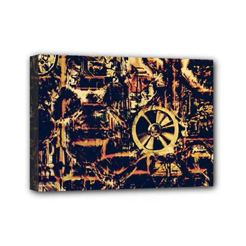 Steampunk 4 Mini Canvas 7  X 5  by MoreColorsinLife