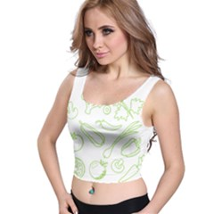 Green Vegetables Crop Top