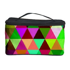 Geo Fun 07 Cosmetic Storage Cases by MoreColorsinLife