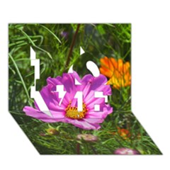 Amazing Garden Flowers 24 Love 3d Greeting Card (7x5)