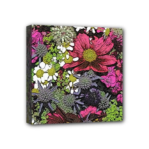 Amazing Garden Flowers 21 Mini Canvas 4  X 4