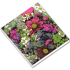 Amazing Garden Flowers 21 Small Memo Pads by MoreColorsinLife